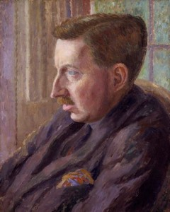 NPG 4698,Edward Morgan Forster,by Dora Carrington