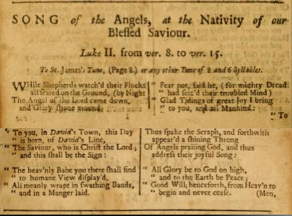 thought that it may have been composed as early as 1710 making it among the oldest but also one of the best classic christmas carols - Classic Christmas Carols