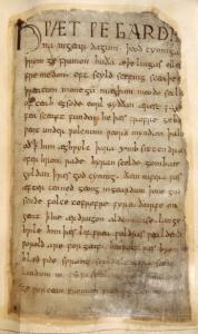 Cotton Vitellius A. XV, f.132