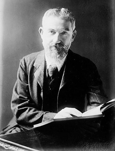 the characters in literature by george bernard shaw The dramatist gb shaw, who was born in dublin in 1856, was a collateral  while his earliest literary career was as a novelist, he began to write plays from 1898  the play pygmalion, written in 1912, features the character of a flowergirl .