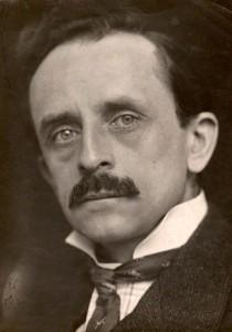 NPG x228; J.M. Barrie by George Charles Beresford