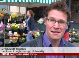 Oliver Tearle BBC news