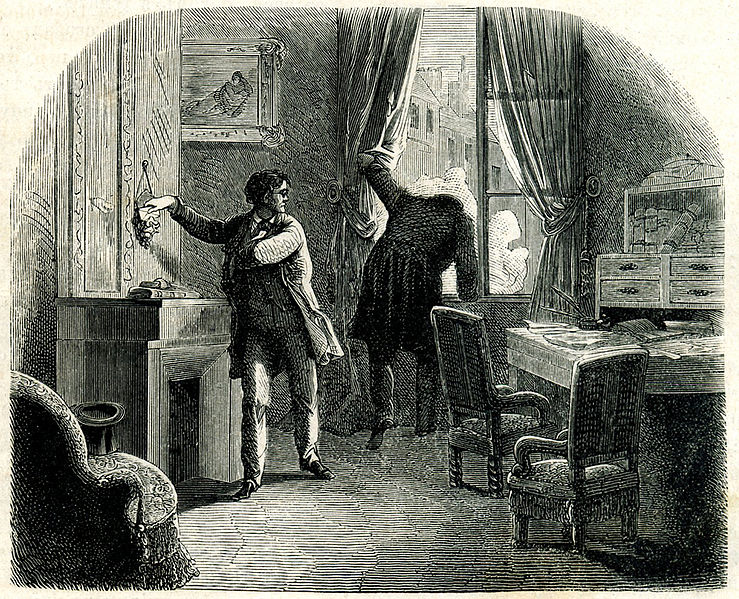 a summary and analysis of edgar allan poe's 'the purloined letter