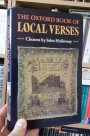 The Joys of a Regional Poem: The Oxford Book of Local Verses